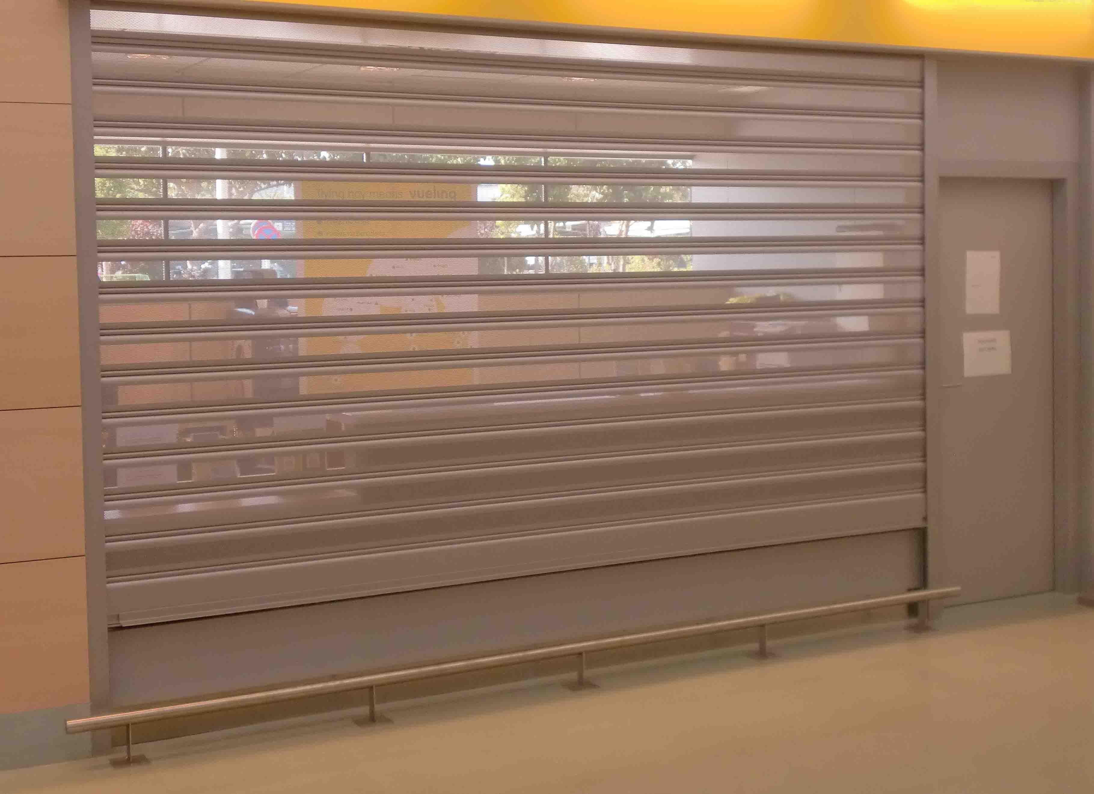 Cierre Microperforado realizado por Cerrajería Keymar